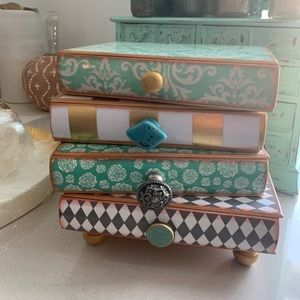 Stack of Books Treasure/Jewelry box